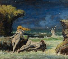 Nude Women on the Beach