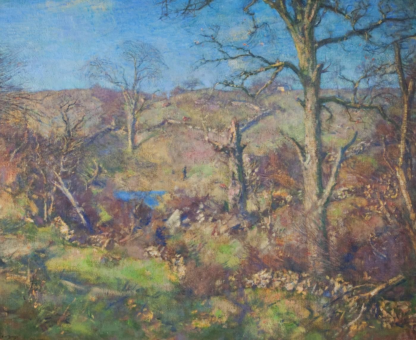 Landscaping A Sunny Hillside : Charles harold davis sunny hillside for sale at stdibs