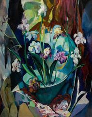 Arthur B. Carles - Still Life with Irises