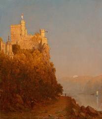 A Sketch of Schloss Rheinstein