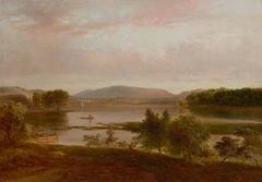 Boating on the Lake, Peekskill, New York