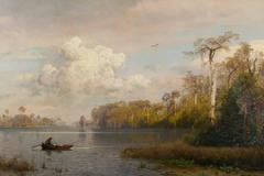 River Landscape, Florida