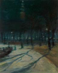 Evening, Madison Square Park