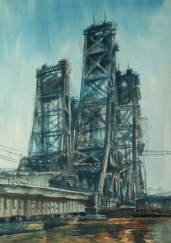 Lift Bridge, Jersey Marshes