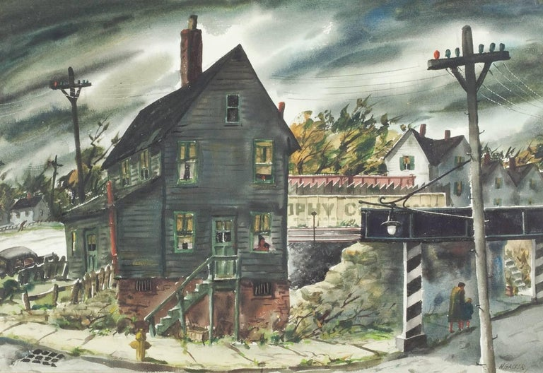 Henry Martin Gasser Landscape Painting - The Underpass