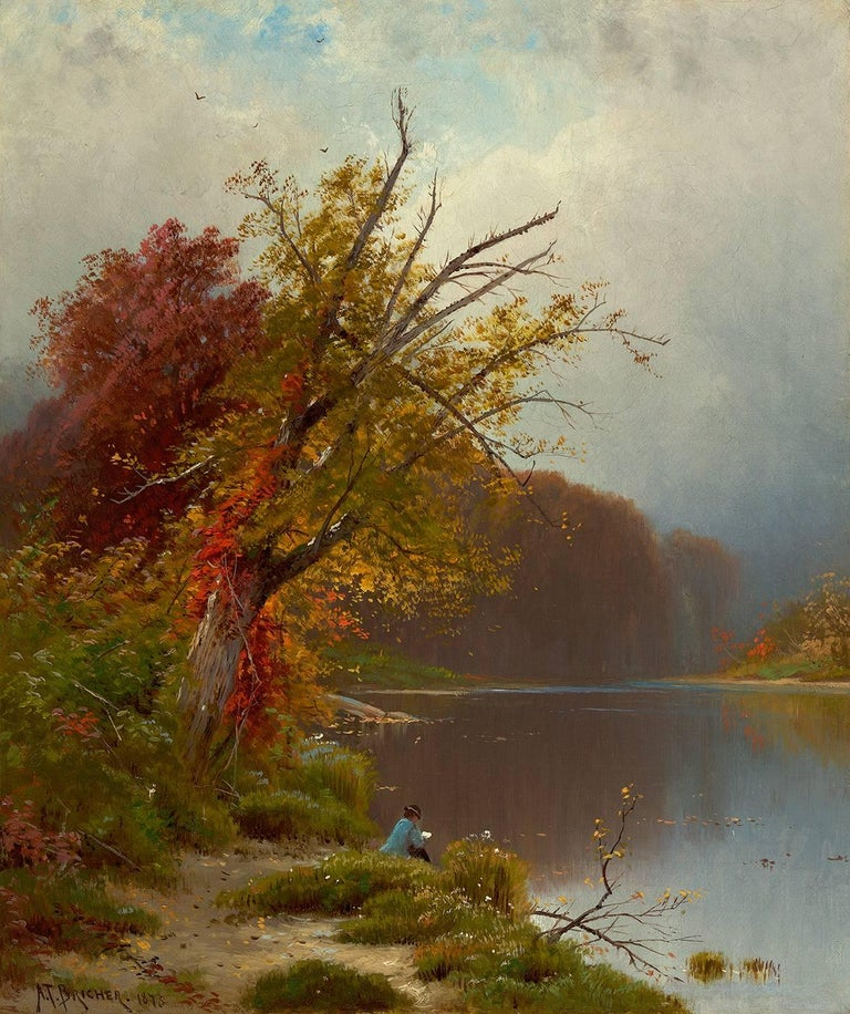 Alfred Thompson Bricher - At the Lake 1