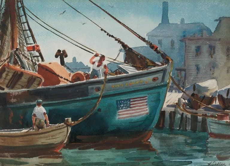 Henry Martin Gasser Landscape Painting - Neutrality