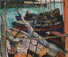 Schooner and Fishing Boats