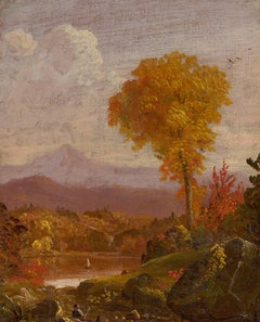Reclining Figure in a Mountain Landscape