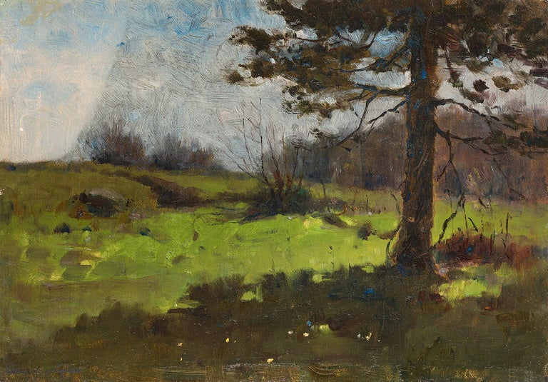 Luther E. Van Gorder Landscape Painting - View from the Shade