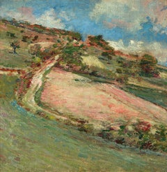 Hillside, Springtime, Giverny