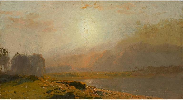 John Bunyan Bristol Breaking Sun Painting For Sale At