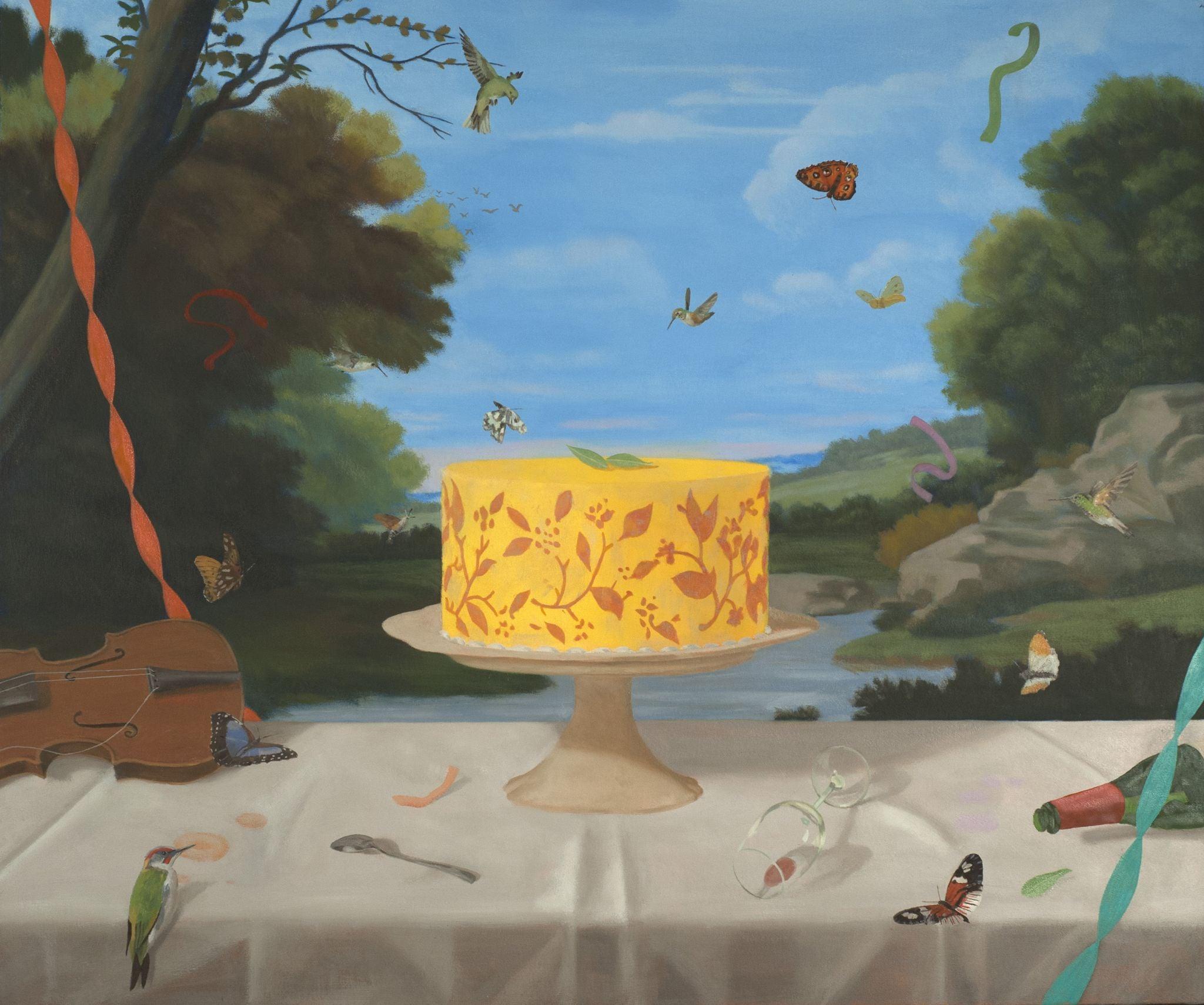 Last Cake: Arcadian Yellow