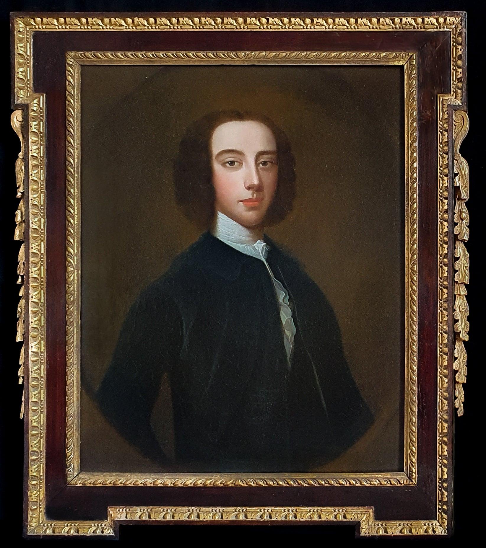 Portrait of a Gentleman, Fine 18th Century Kent Frame, Antique oil Painting