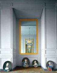 Cabinet Interieur de Mme Adelaide #2, Corps Central - RdC, Versailles, France