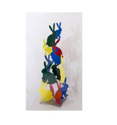 Hunt Slonem Sculptures