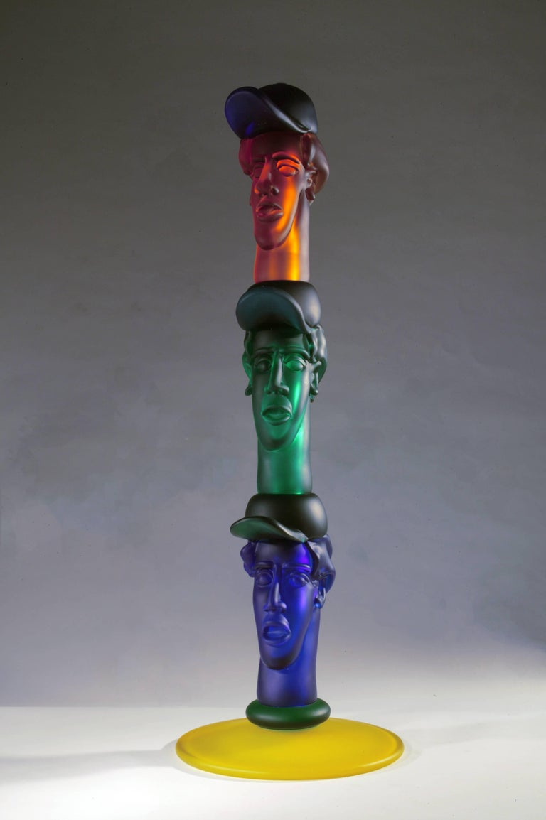 Trio - Sculpture by Richard Jolley