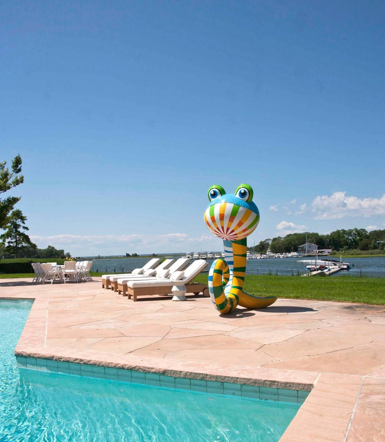 Phillip maberry outdoor pool toy for sale at 1stdibs for Outdoor pool sculptures