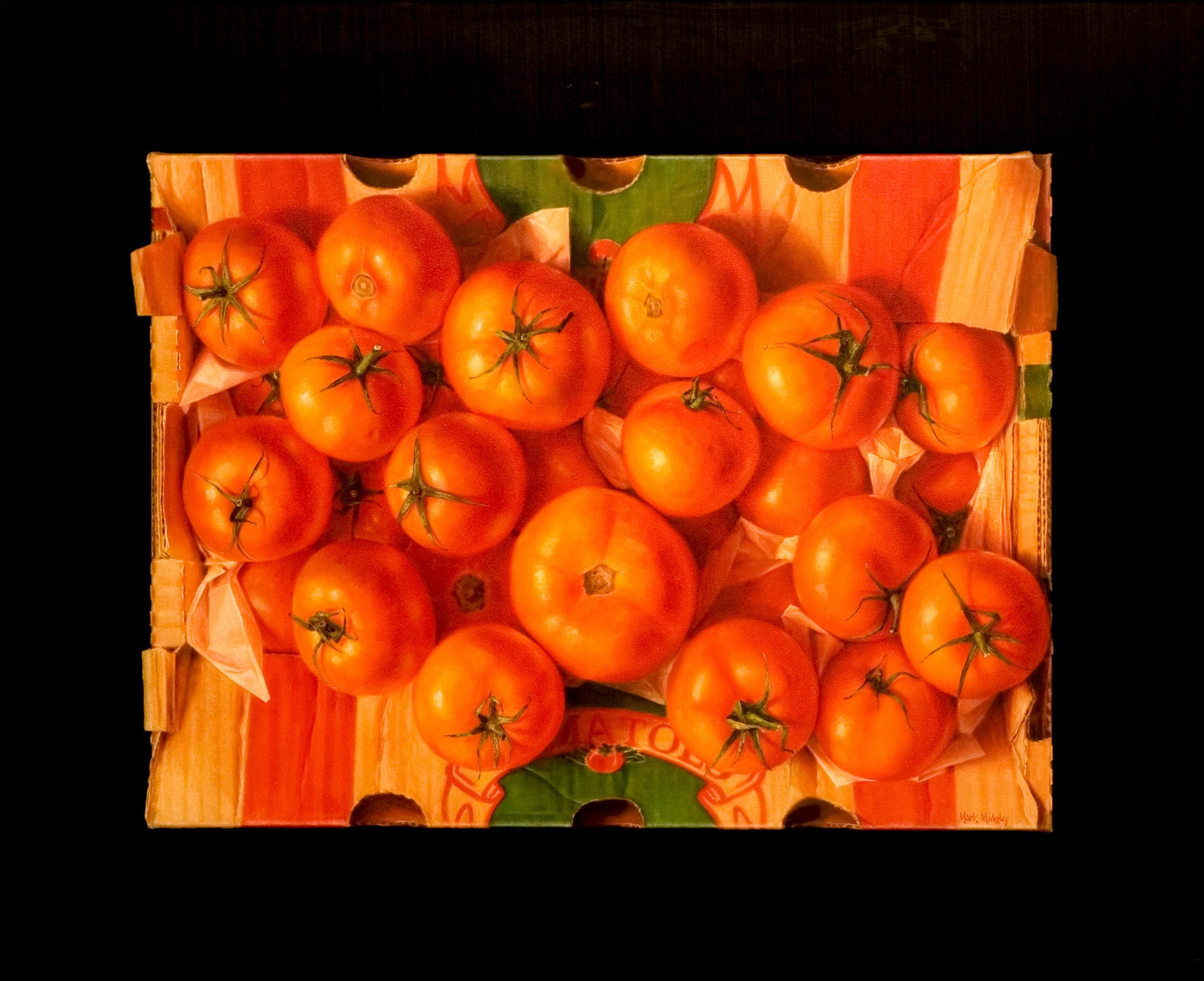 Tomatoes - Still Life, Fruit & Vegetables, South Africa, Realistic