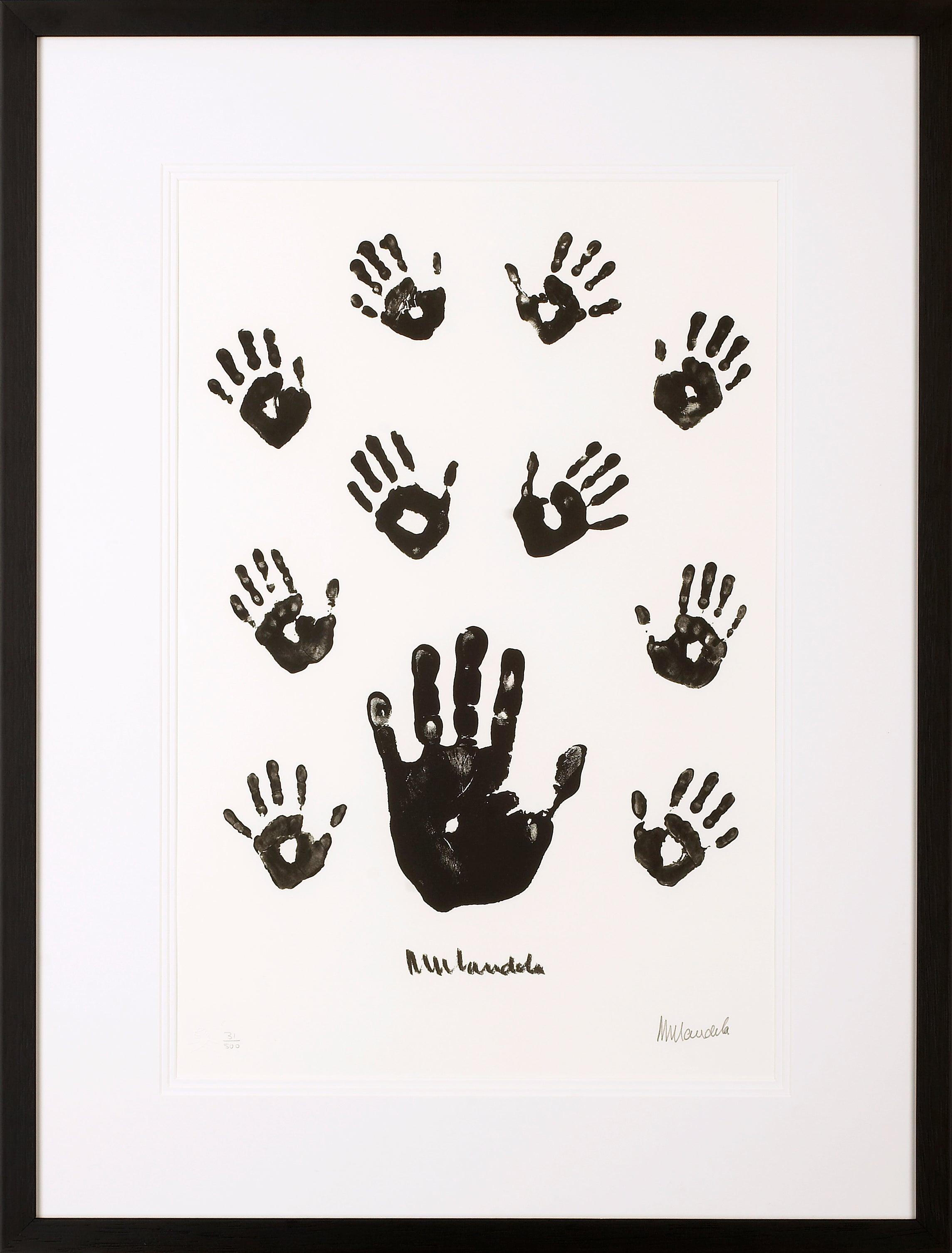 Impressions of Africa - Mandela, Former South African President, Signed Artwork