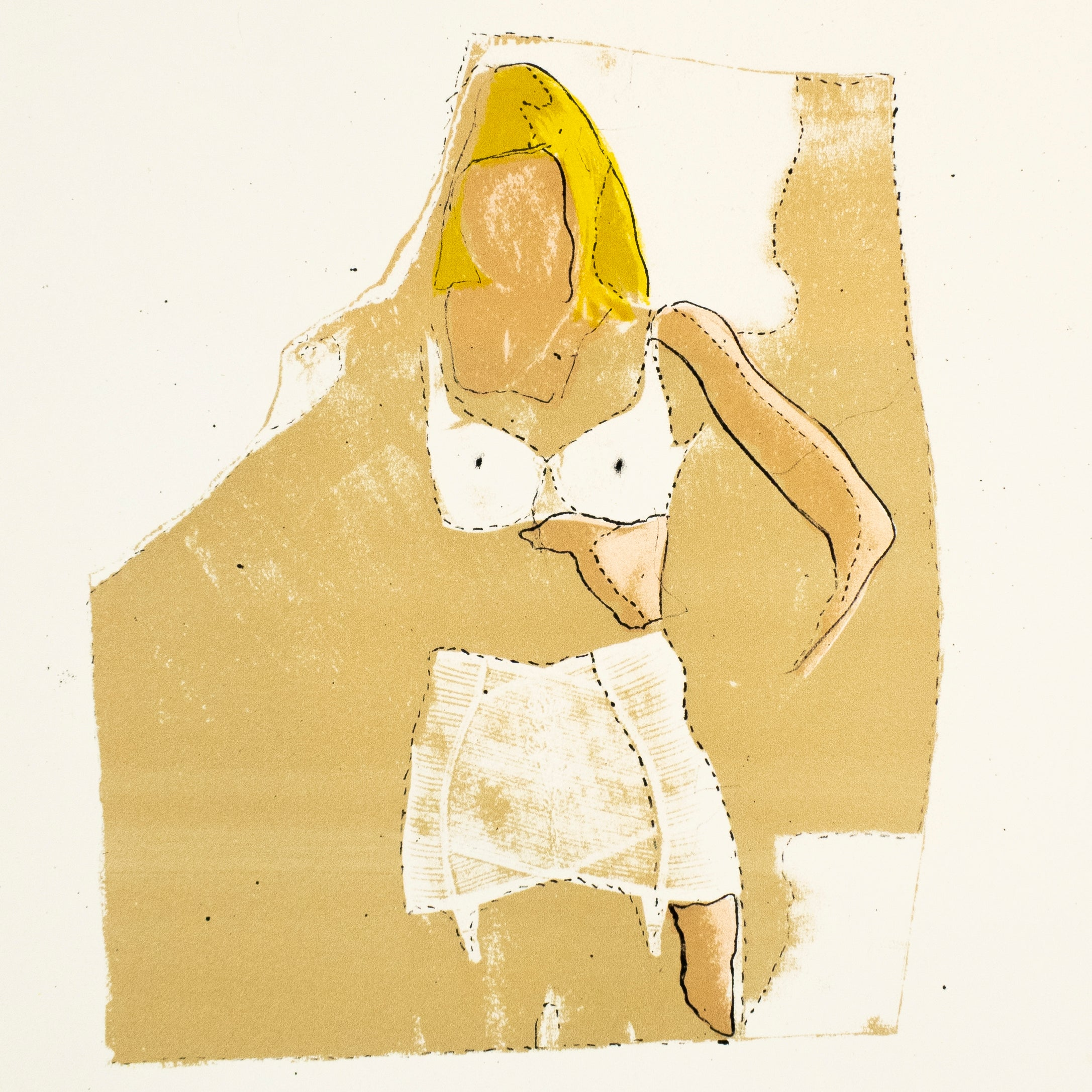 Jim Dine Sybil in her Dressing Room The Picture of Dorian Gray Hollywood starlet