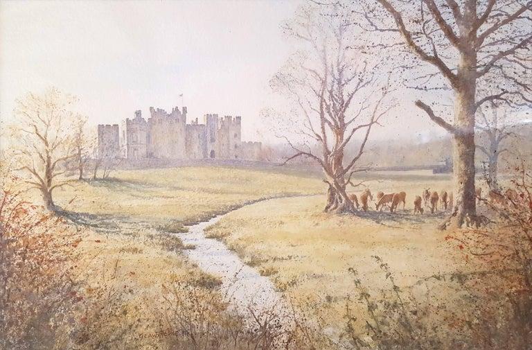 Gillie Cawthorne Landscape Art - Raby Castle, Staindrop