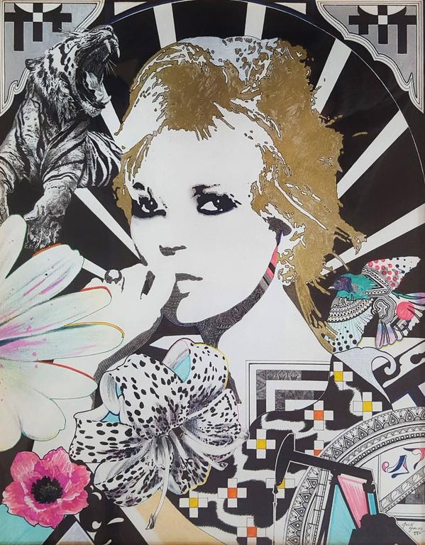 Jack Graves III Portrait - Zeda (Kate Moss)