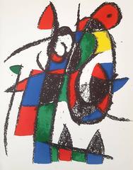 Joan Miró - Lithographe II: Untitled (M. 1038)