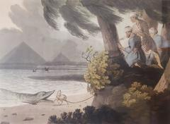 Egyptians, Crocodile Hunting