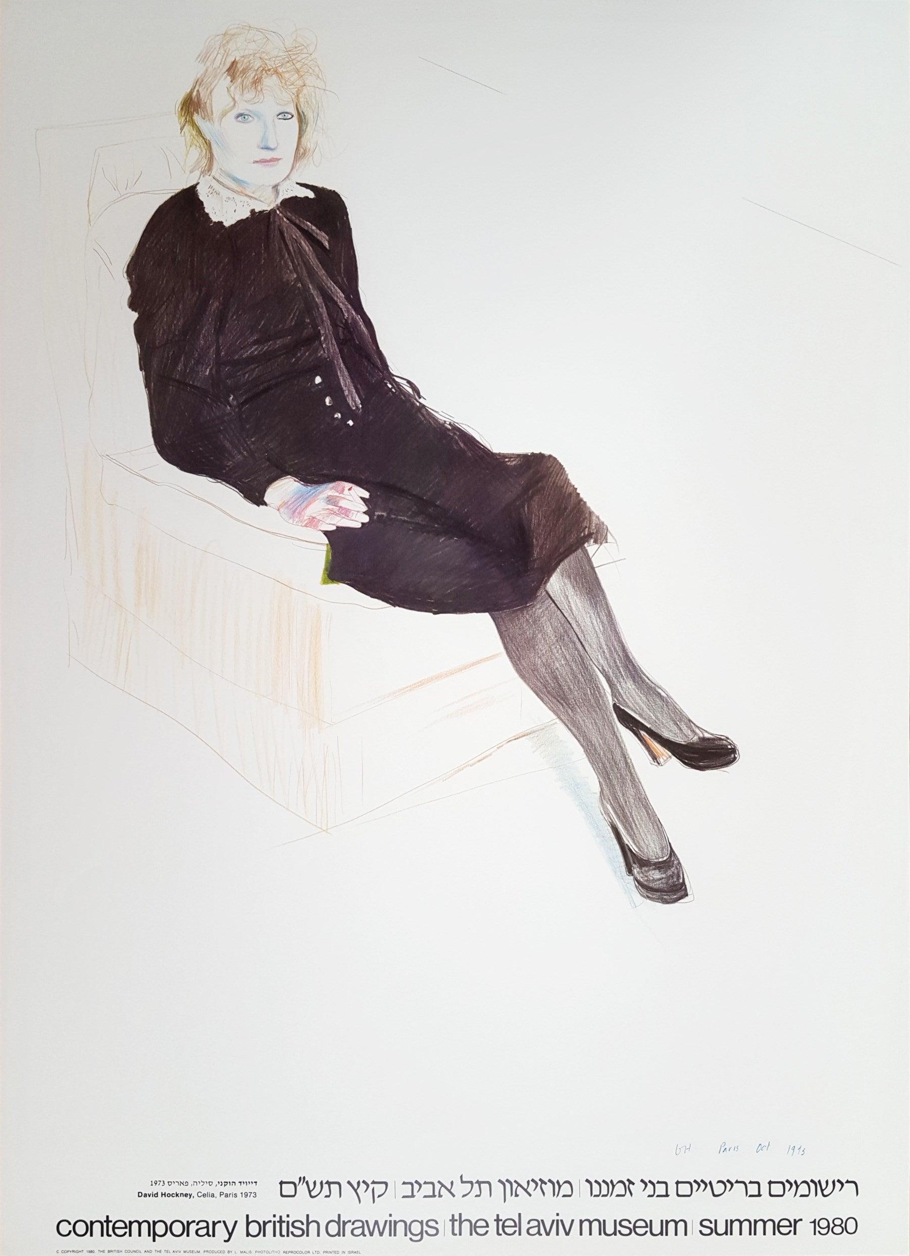 Celia, Paris, Black Stockings