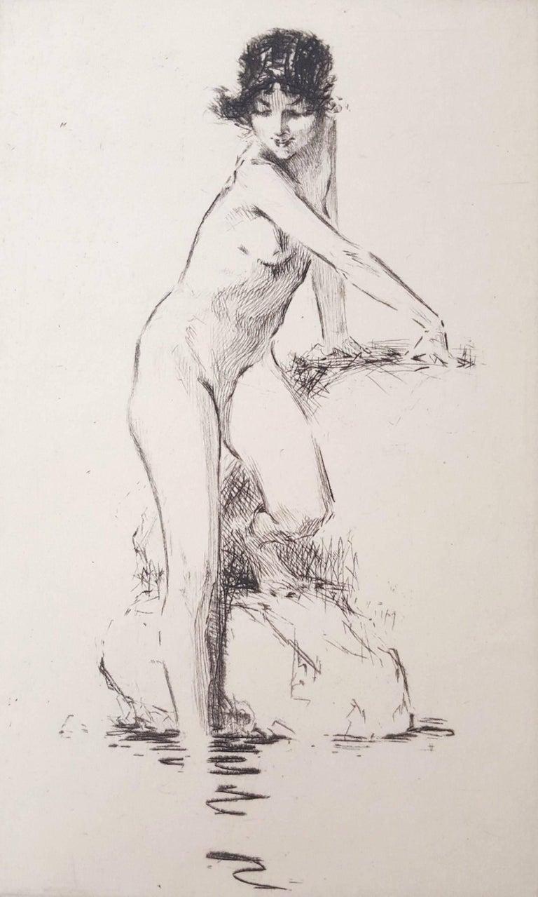 Troy Kinney Nude Print - Summer Day