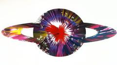 Damien Hirst - Saturn Spin Painting