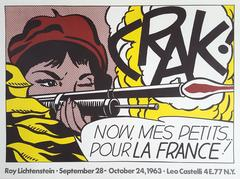 Roy Lichtenstein - CRAK!