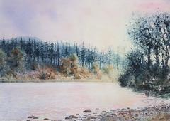 Landscape Drawings and Watercolors