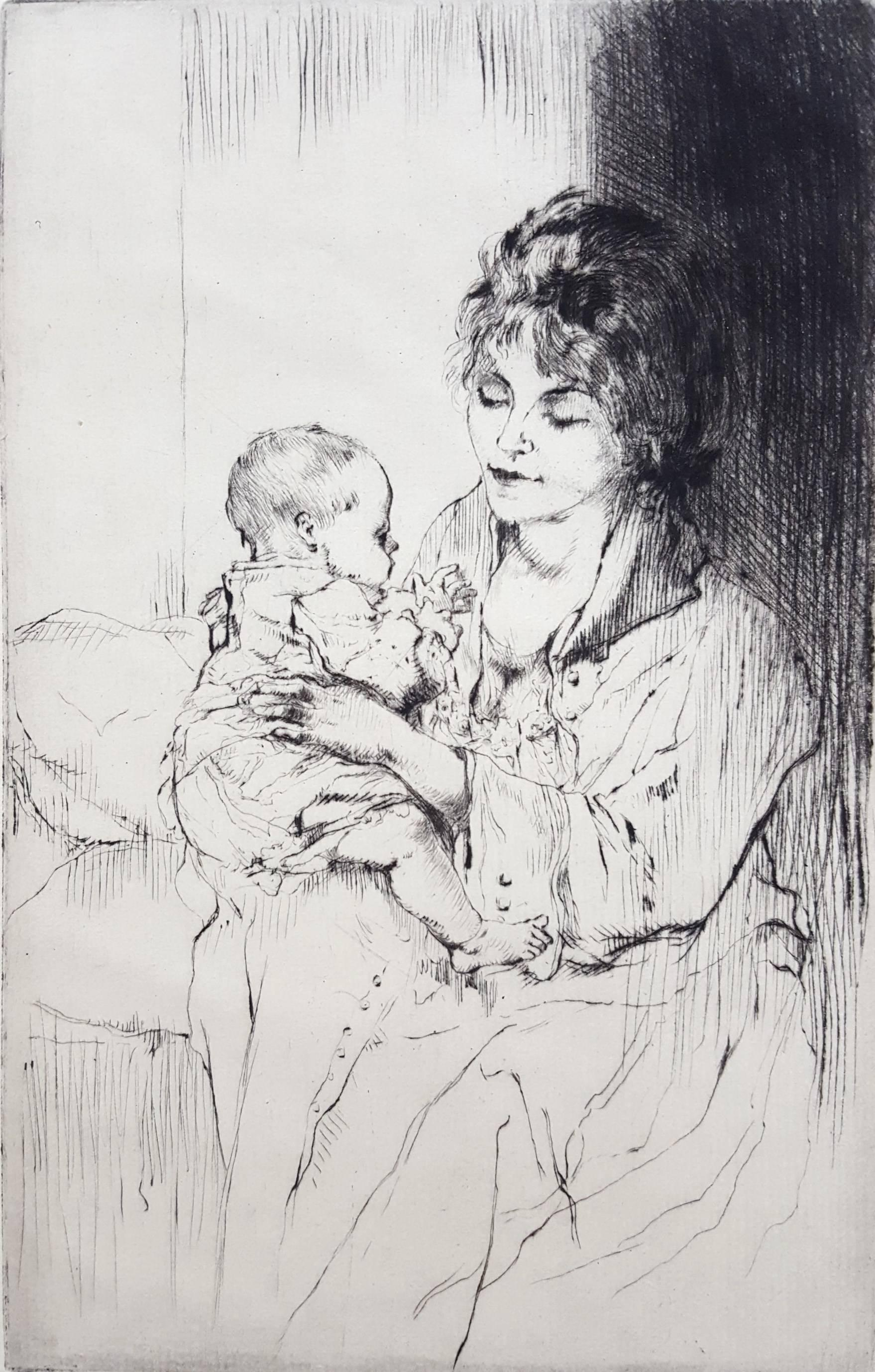 Young Mother (Tiny Little Hands)