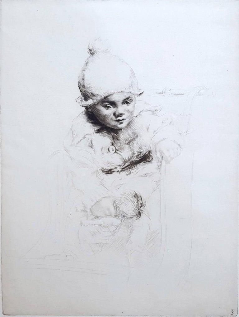 Sidney Tushingham Portrait Print - Peggy
