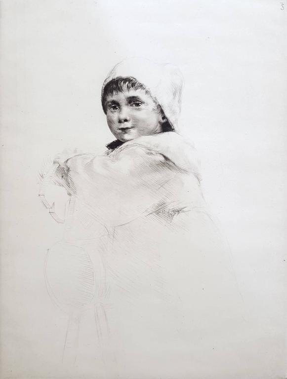 Sidney Tushingham Portrait Print - Molly