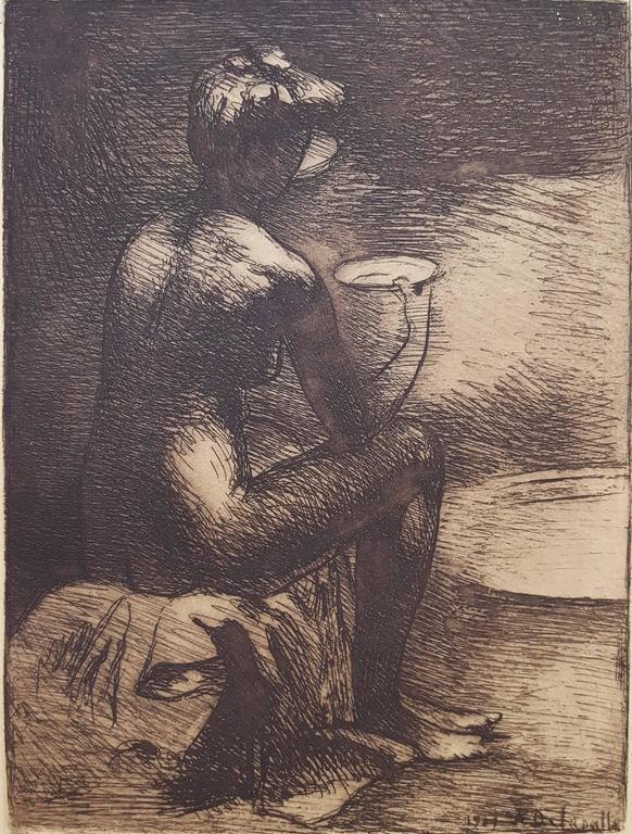 Angèle Delasalle Nude Print - Le Dejeuner