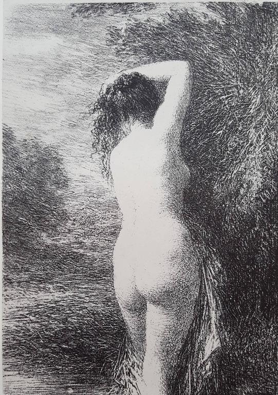 Henri Fantin-Latour - Baigneuse 1