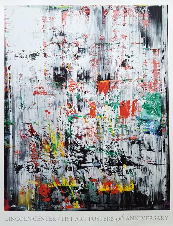 Gerhard Richter Abstract Print - EIS II, Ice 2