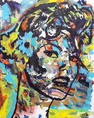 Homage to Roy Lichtenstein: Linda Evangelista Icon