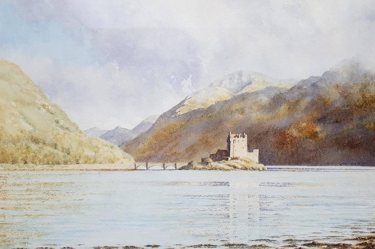 Eileen Donan, Loch Ness, Scotland. Fully Framed