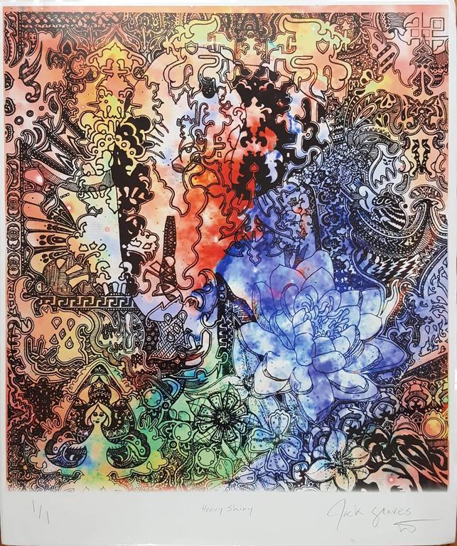 Jack Graves III Abstract Print - Heavy Shiny