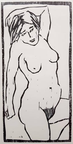 German Expressionist Style Nude