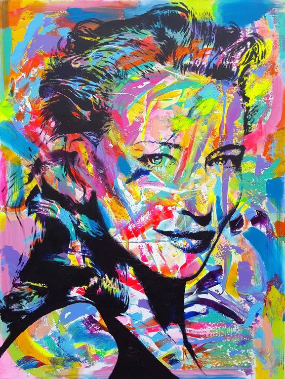 Jack Graves III Portrait Painting - Cate Blanchett Icon