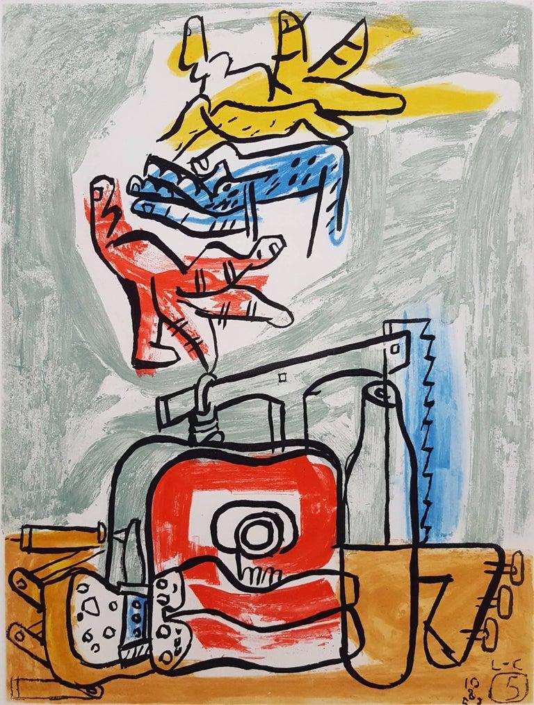 Le Corbusier Interior Print - Unité, Planche 5 (Set of 2)