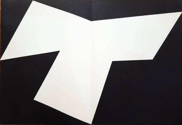 Ellsworth Kelly Abstract Print - Derrière Le Miroir No. 110 (page 10, 11)