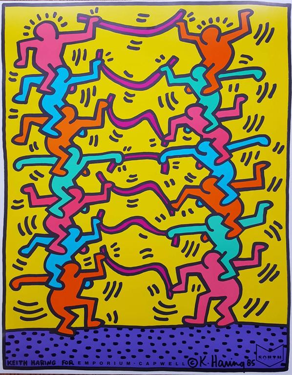 Keith Haring - Keith Haring for Emporium Capwell 1