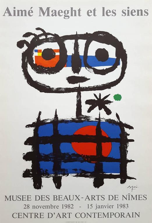 Joan Miró Figurative Print - Aime Maeght et les Siens