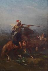 Cavaliers Algériens au Combat